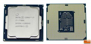 INTEL CORE I7-7700K REGISTRA PROBLEMAS
